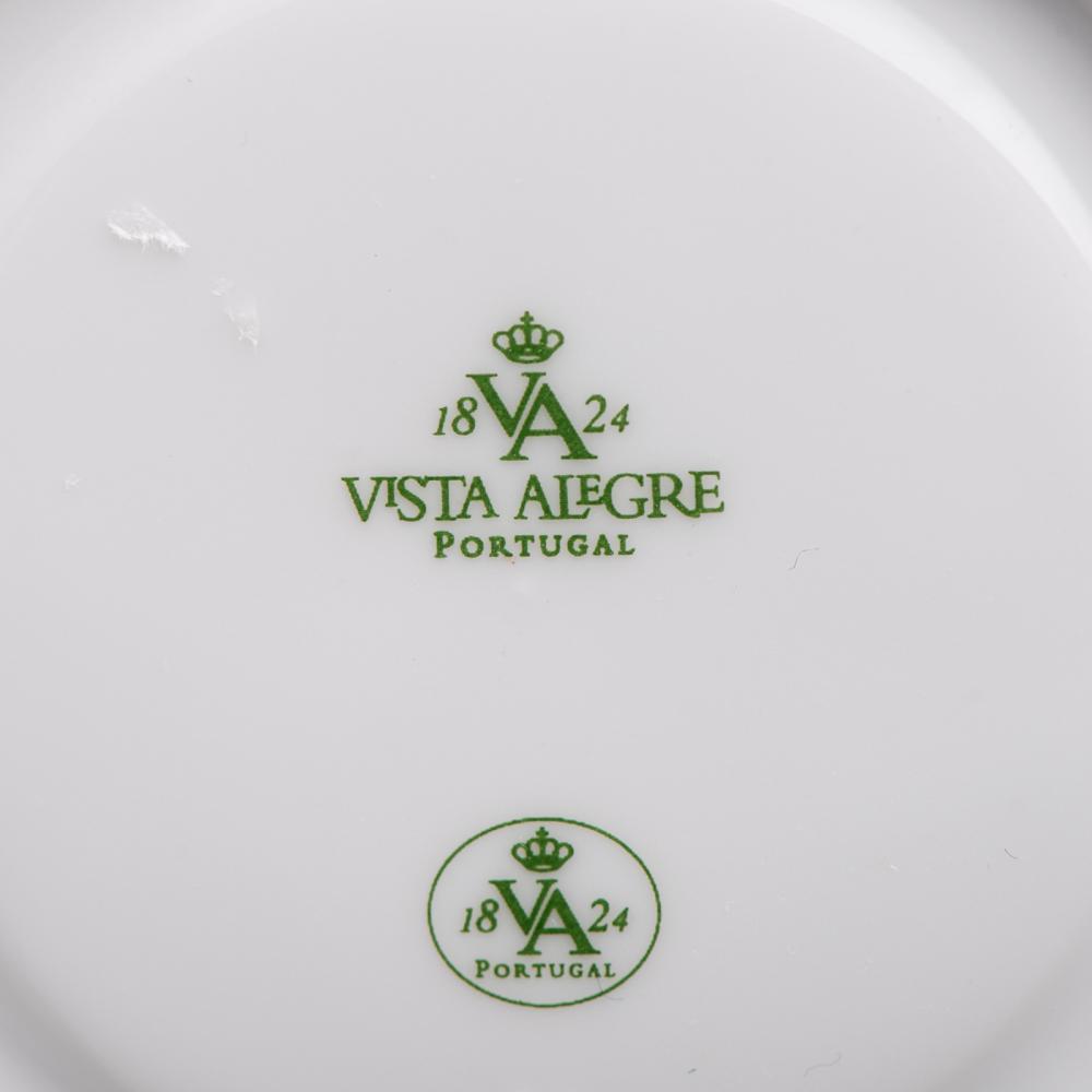 Parte de serviço de café em porcelana V.A (26)