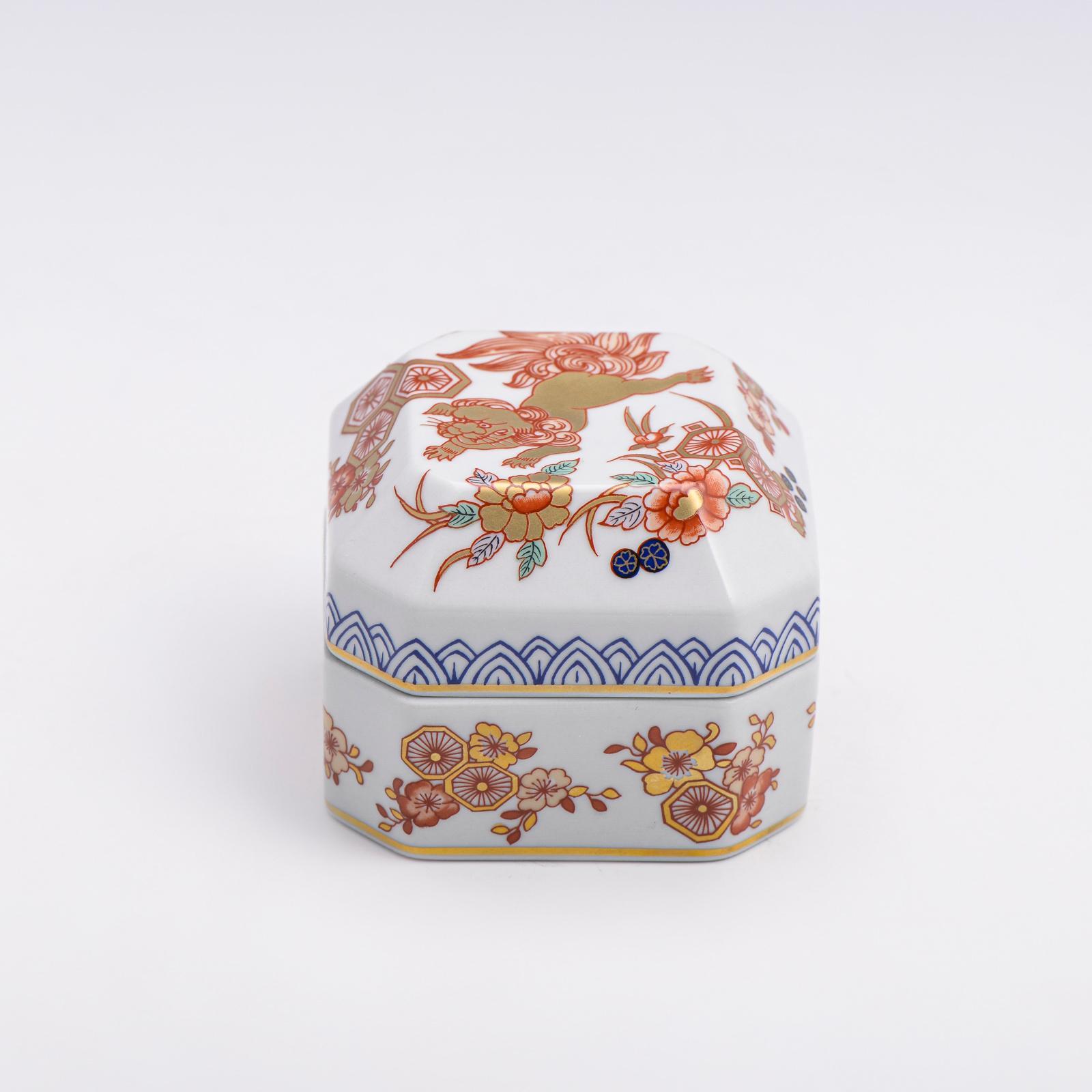 Caixa com tampa, porcelana Vista Alegre