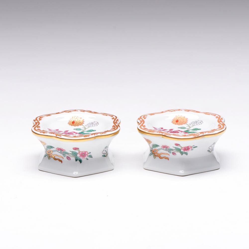 Par de saleiros em porcelana da Vista Alegre (2)