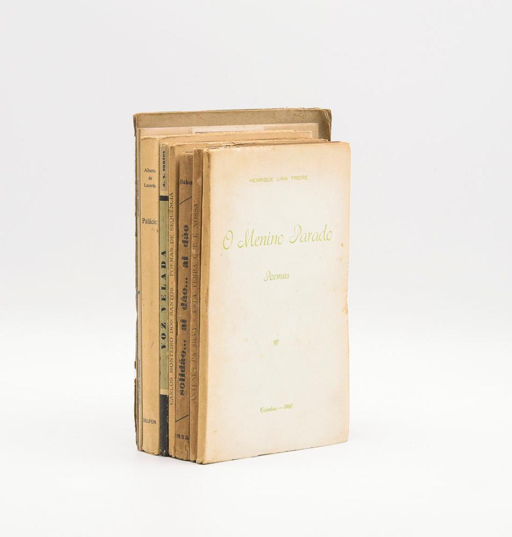 PORTUGUESE POETS. 8 vols. Brs.