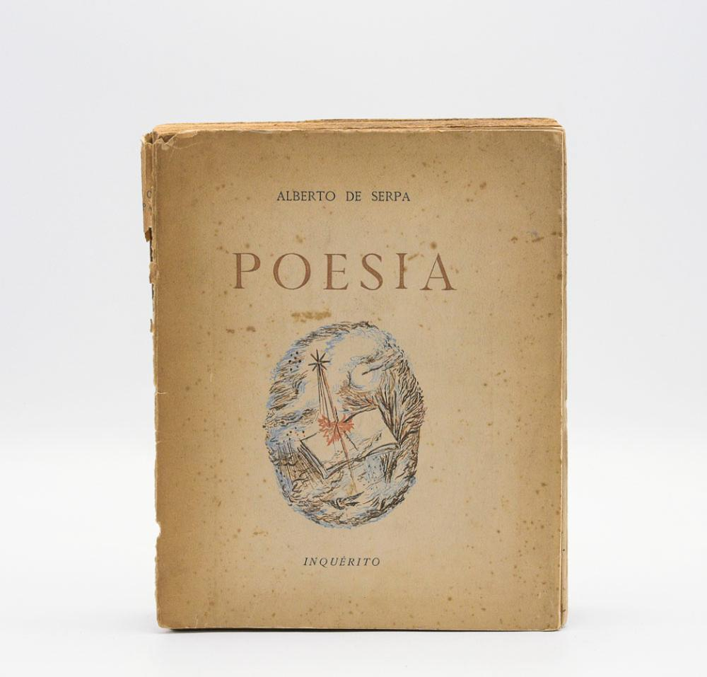 SERPA, Alberto de.Poesia. 1 vol.br.