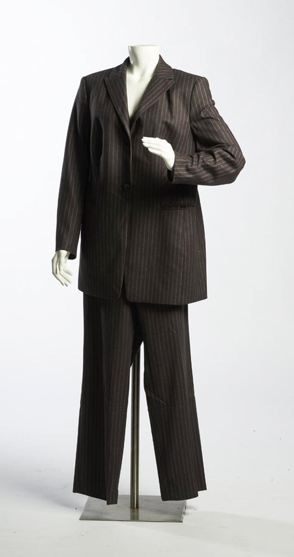 Féraud, wool and angora coat and pants