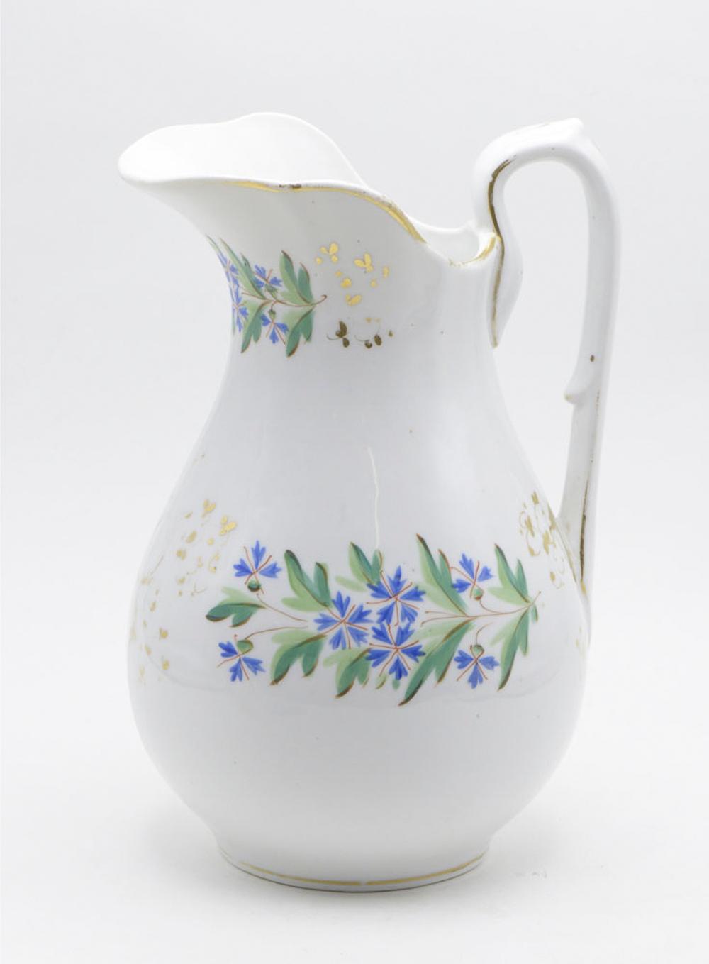 European porcelain jug