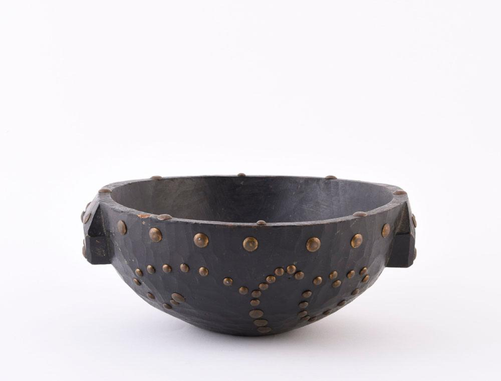 African wooden bowl