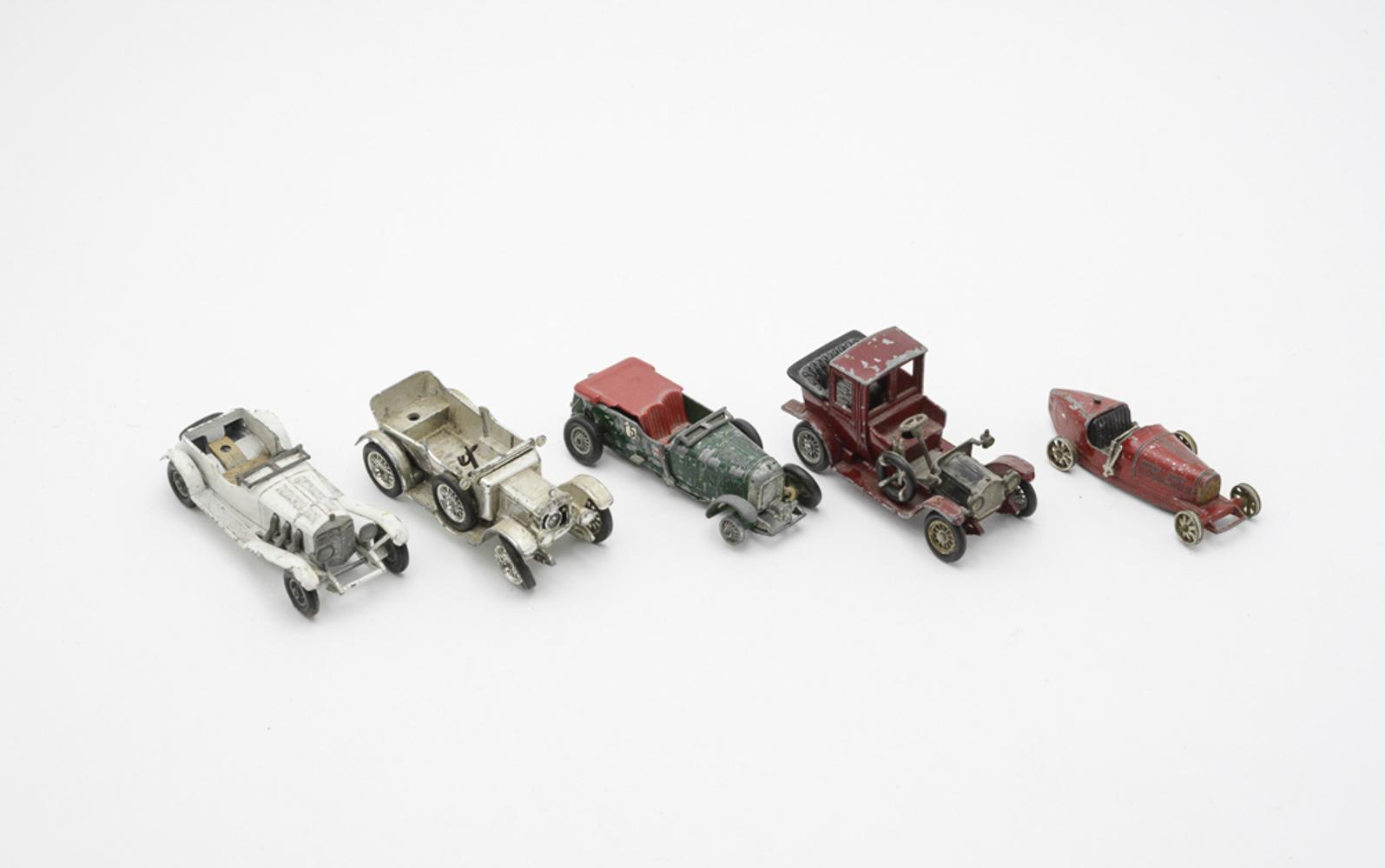 LESNEY, lot of 5 vehicles, Models of Yesteryear