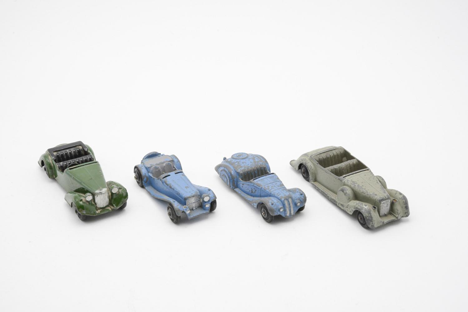 DINKY TOYS, lot of 4 vehicles