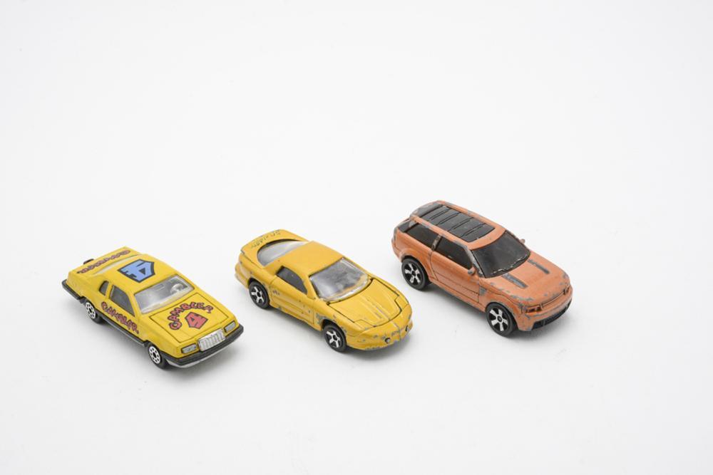MAJORETTE, lot of 3 cars