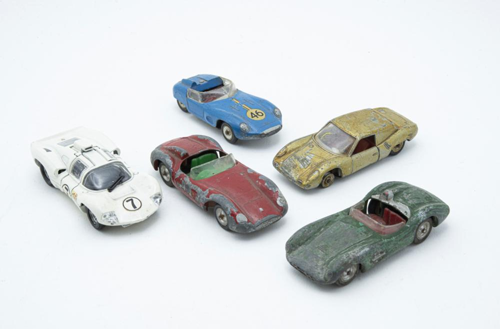 SOLIDO, lot of 5 vehicles