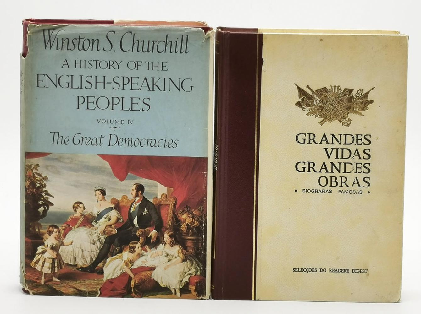 VARIES. Lot of 2 vols. encs.