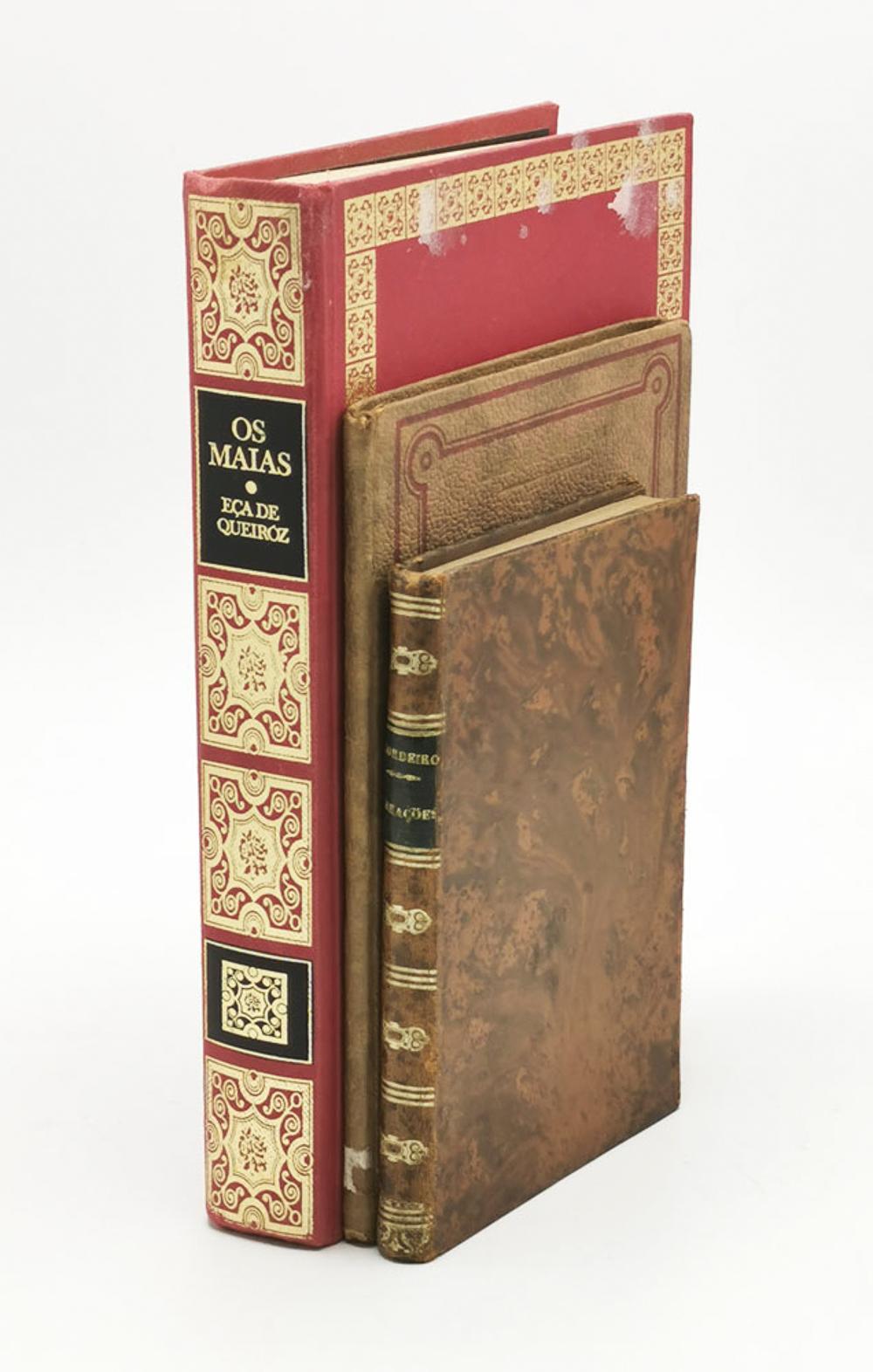 LITERATURE. Lot of 3 vols. encs.