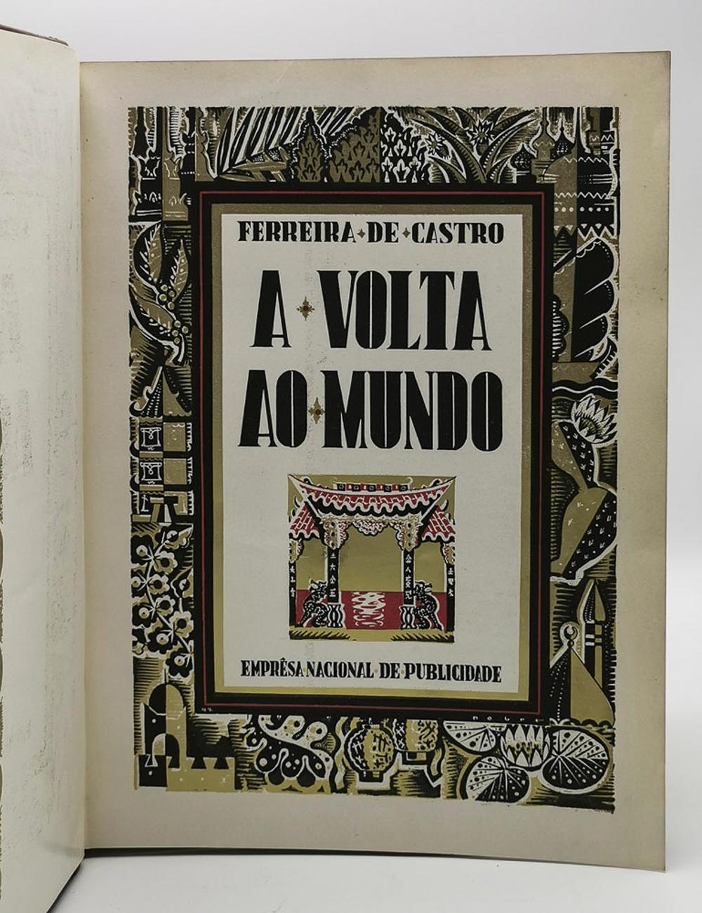 CASTRO, Ferreira de. BACK TO THE WORLD, 1 vol. enc.