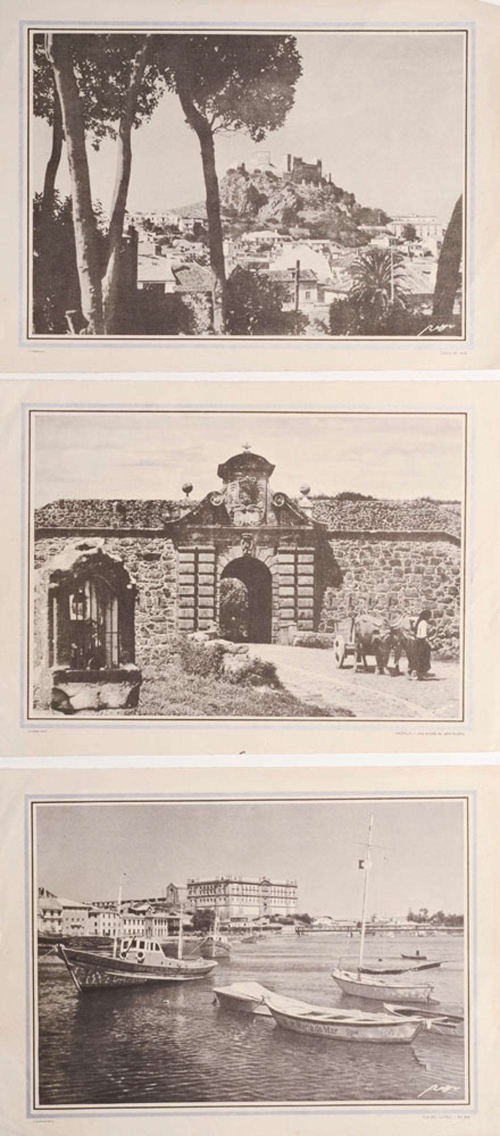 Conj. 3 prints on paper, 20.5 x 28 cm