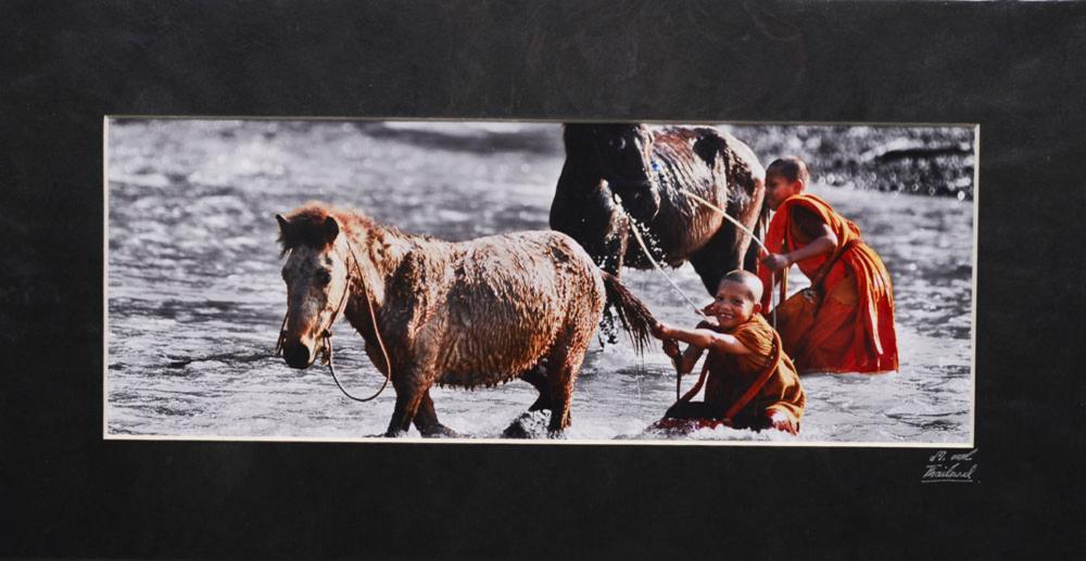 Color photograph on paper, 11 x 29.5 cm.