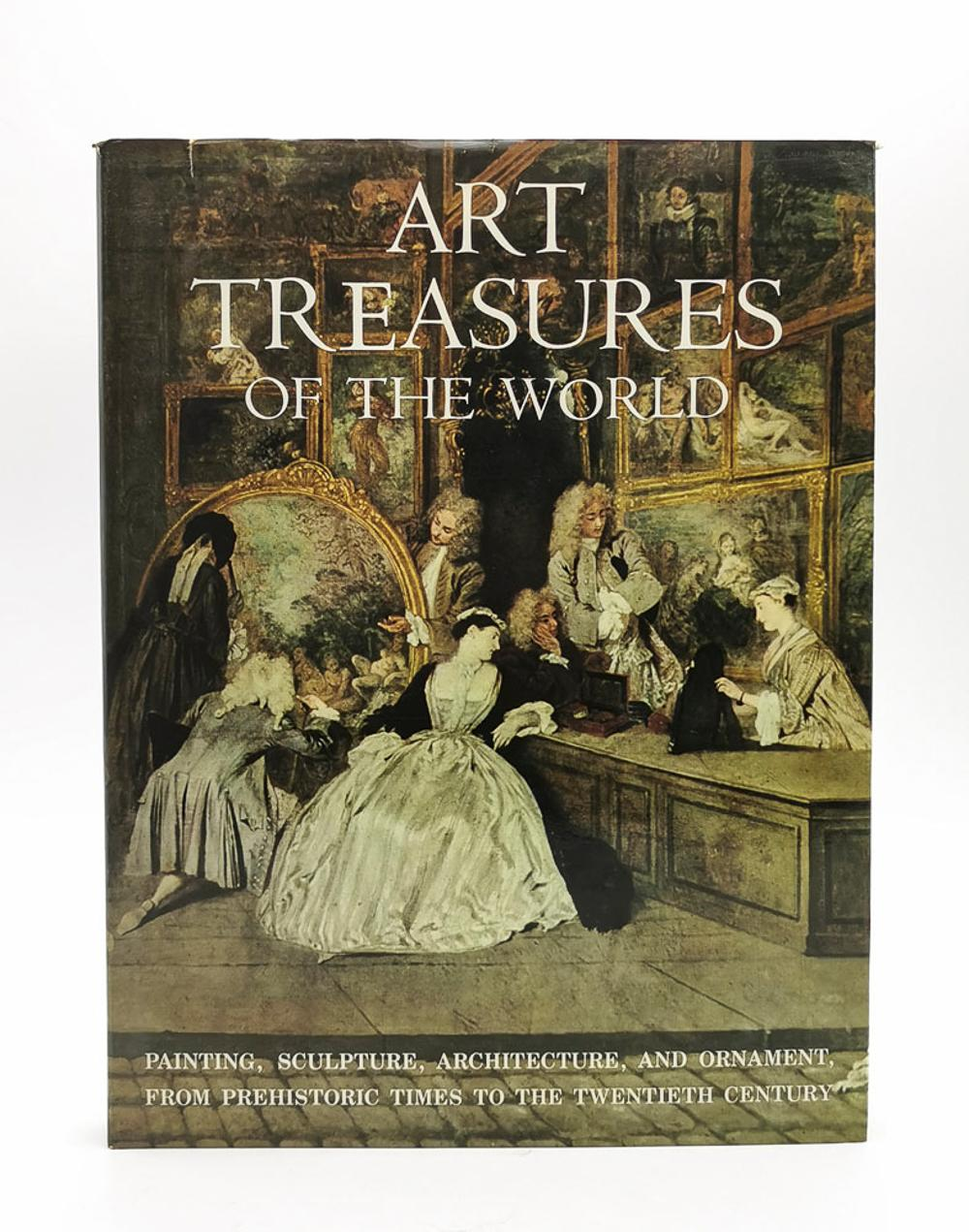 ART TREASURES OF THE WORLD, 1 vol. enc.