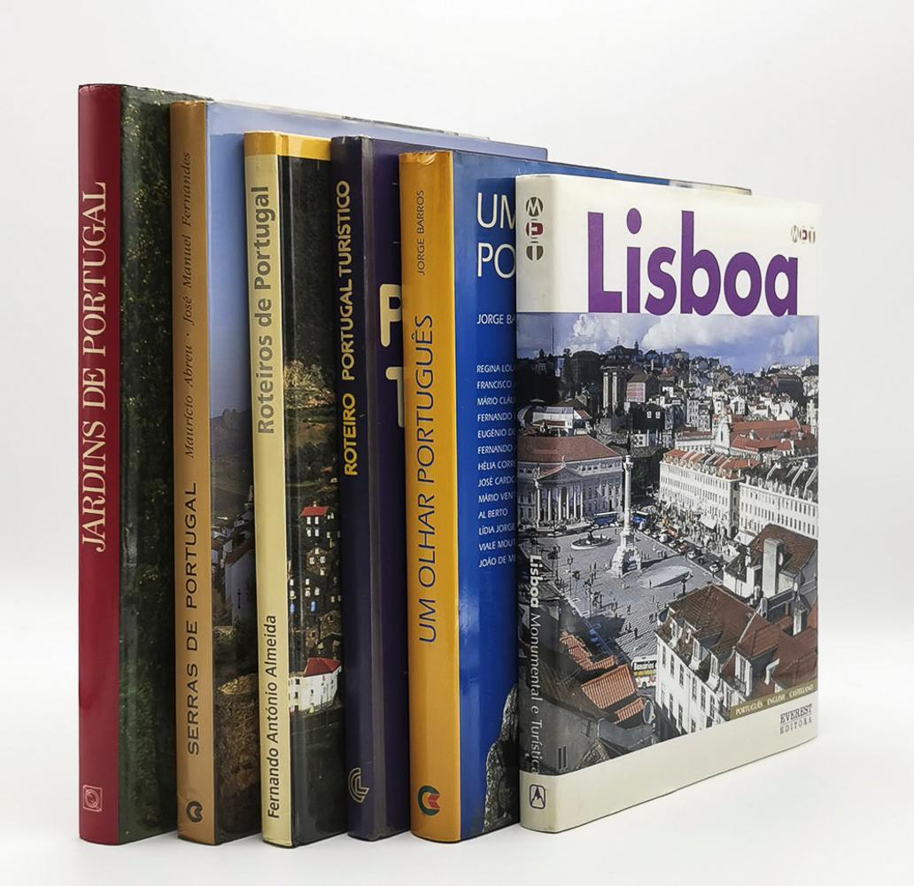 PORTUGAL, Lot of 6 vols. encs.