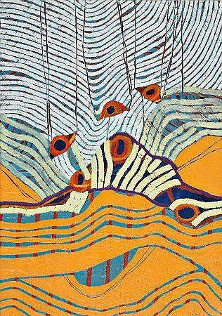 Jorge Lancinha, Acrílico s/tela, 50,5x35,5 cm
