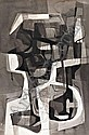 Burl Marx, tinta sobre papel, 102,5 x 68 cm. BURLE, Roberto Burle Marx, Click for value