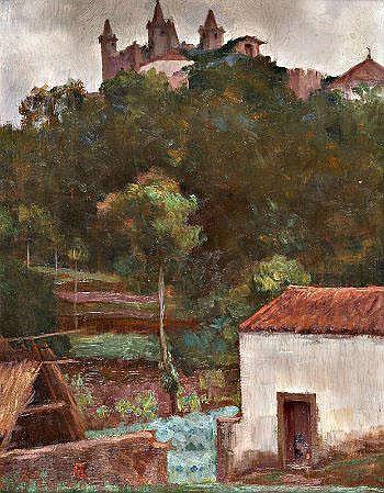 Artur Loureiro, Paisagem 30 x 23,5 cm ARTUR