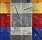 Isabel Laginhas, Acrílico sobre tela,105 x 109 cm., Isabel Laginhas, Click for value