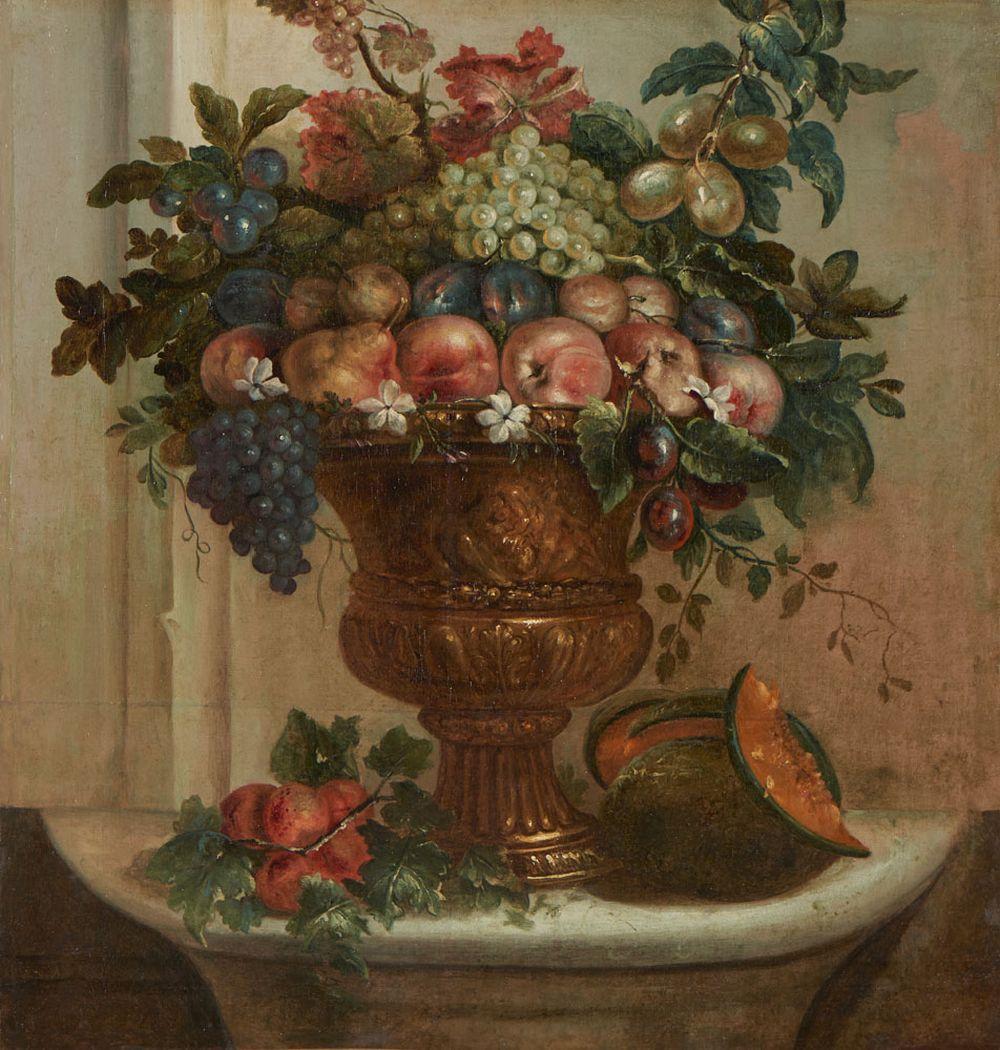 At. DESPORTES, óleo sobre tela, 82,5 x 83 cm.