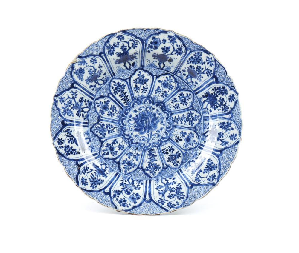 Prato em porcelana chinesa
