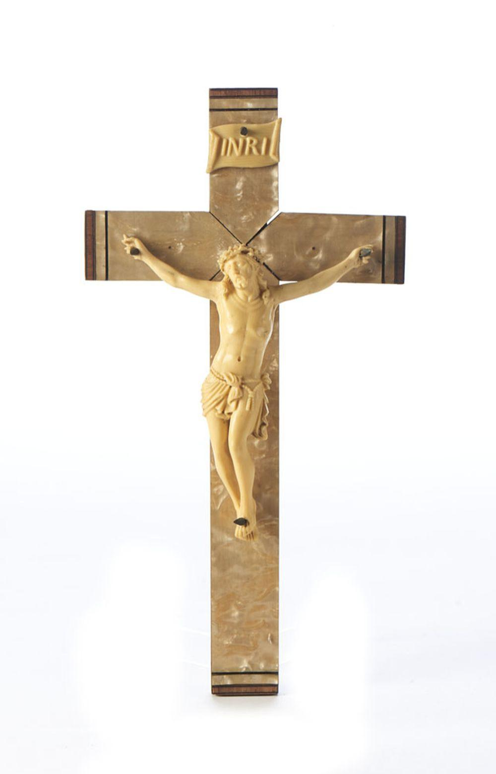 Jesus Cristo crucificado, Esc. material sintético