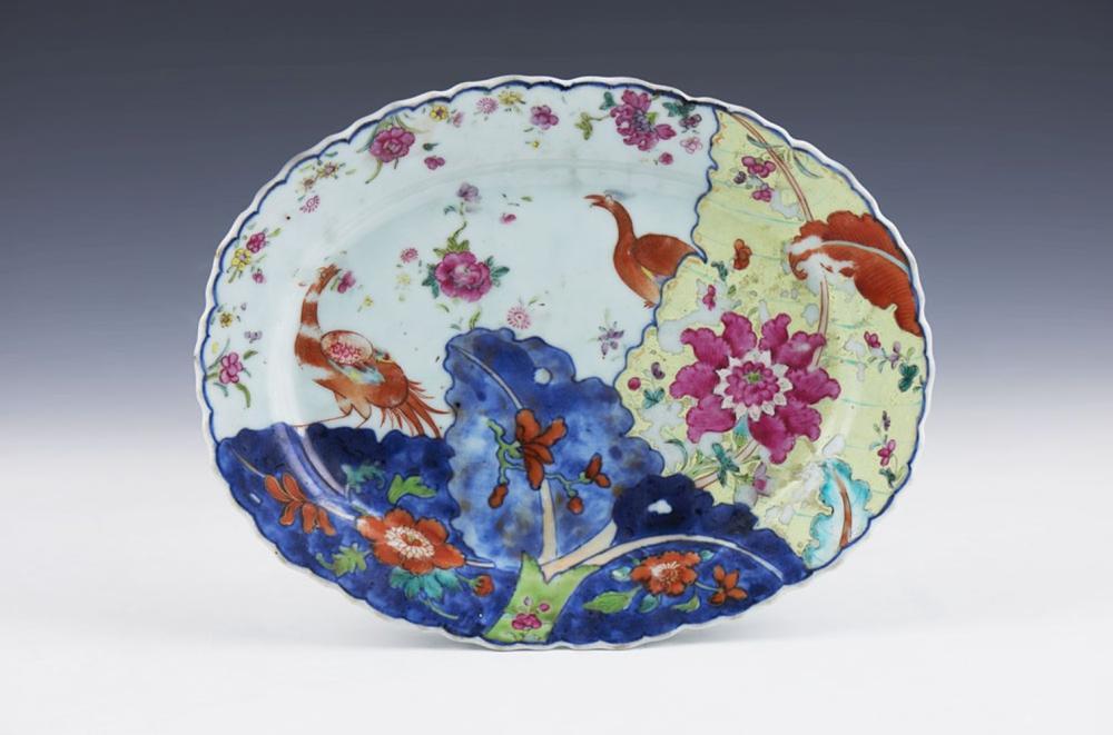 Travessa em porcelana chinesa
