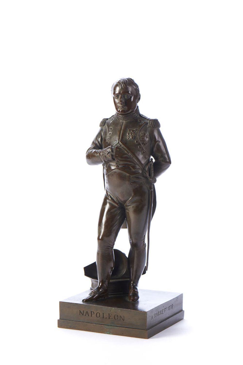 J. Auguste BARRE, Napoleão, Esc. em bronze