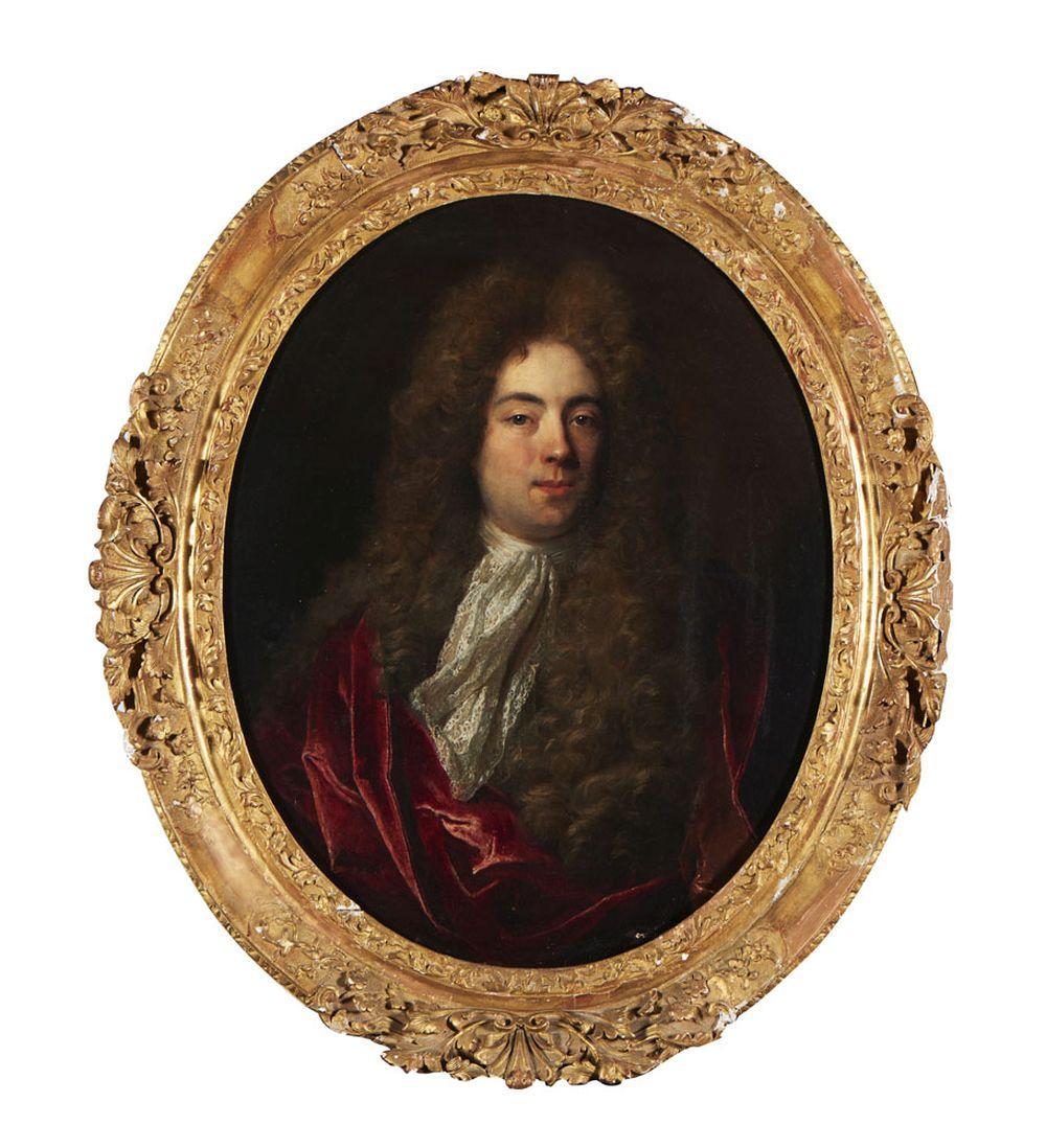 Retrato de nobre, Óleo sobre tela, 82 x 66 cm.