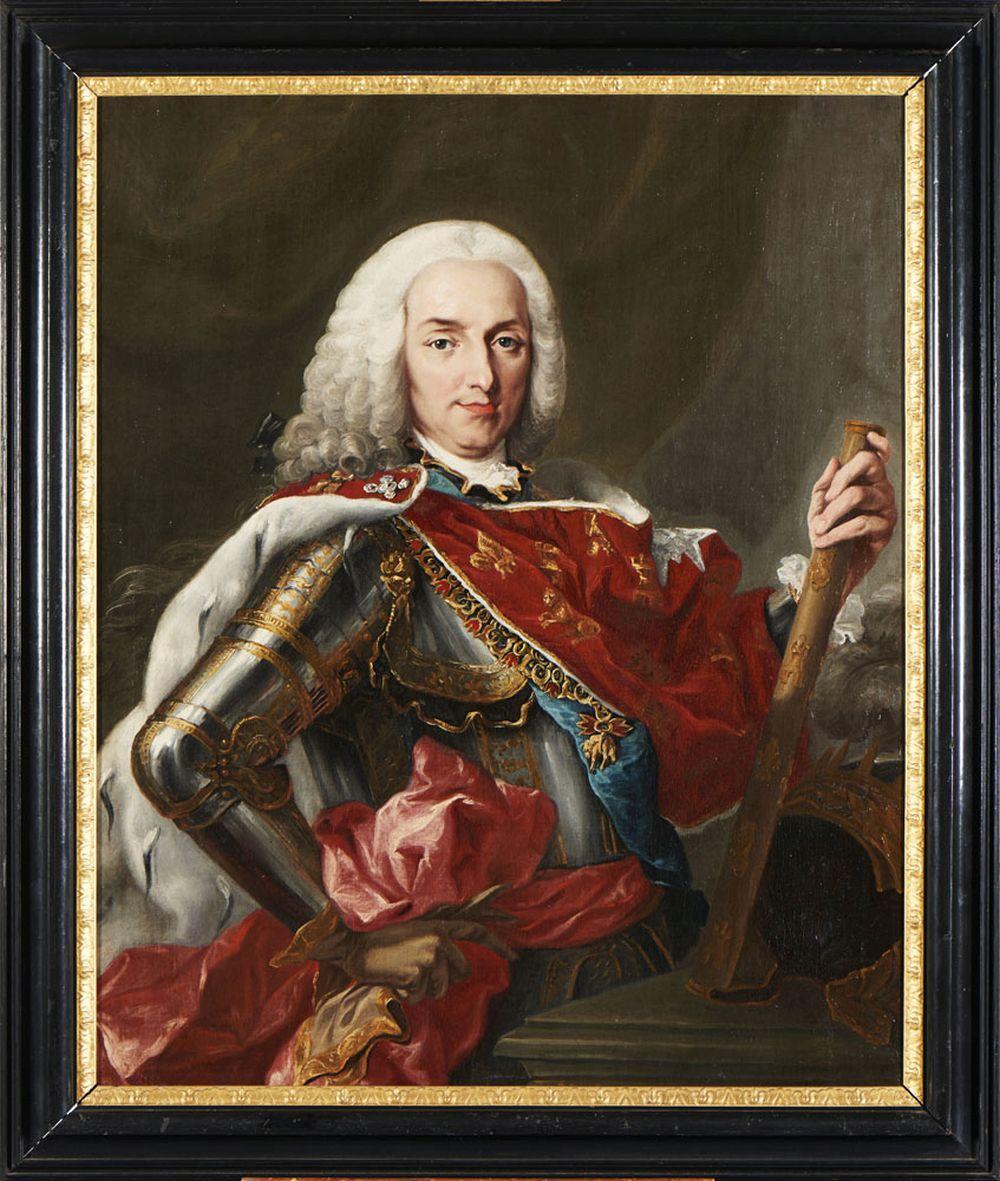Retrato do Rei Filipe V, Óleo sobre tela, 104 x 80