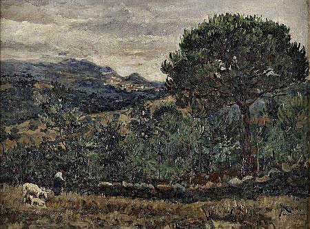 José Campas; Montachique, Dim.: 36,5 x 50 cm. JOSÉ