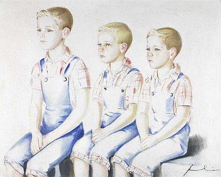 Júlio - Retrato de três meninos