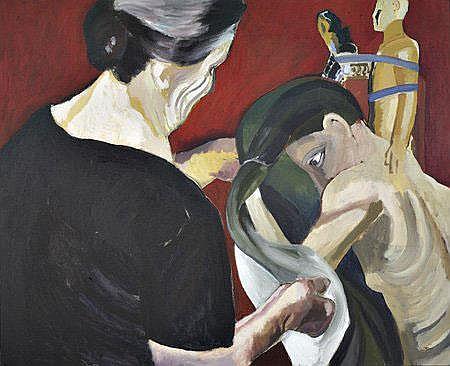 Graça Morais, Acrílico sobre tela,81 x 100 cm.