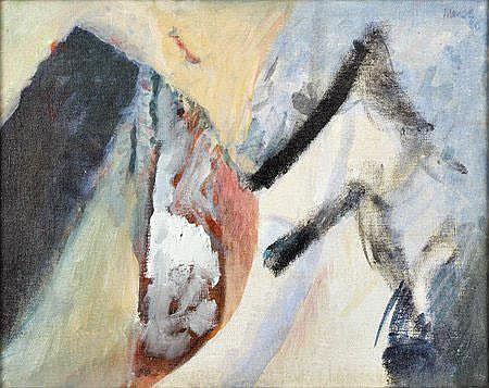 MENEZ, Acrílico sobre tela, 28 x 35,5 cm. MENEZ,