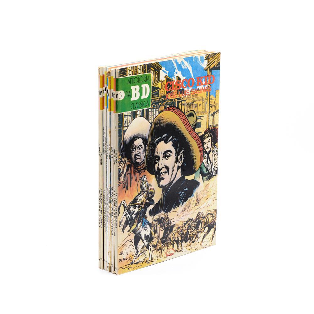 ANTOLOGIA DA BD CLÁSSICA, 9 vols. brs.