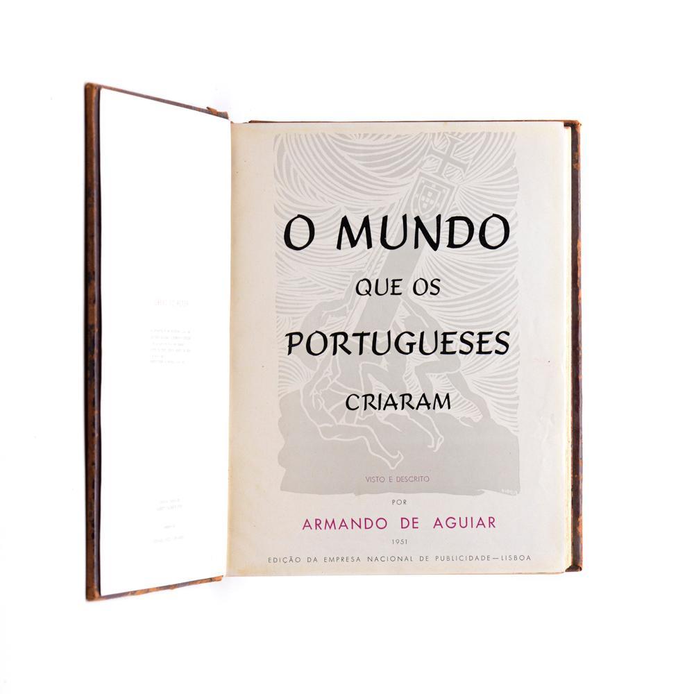 AGUIAR. MUNDO QUE OS PORTUGUESES CRIARAM 1vol. enc
