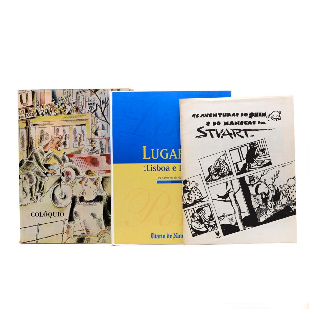 ARTE PORTUGUESA. Lote de 6 vols.