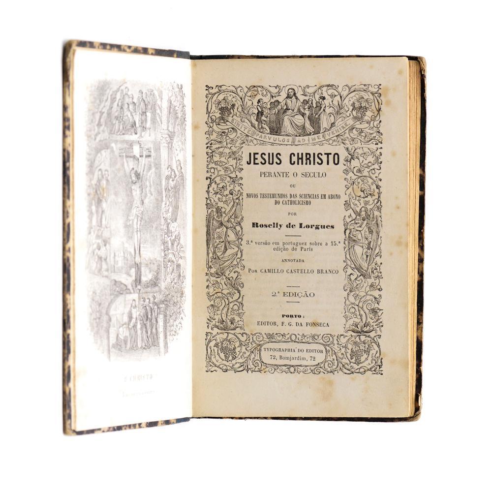 Branco, Camilo Castello.Jesus Cristo.. 1 vol. enc.