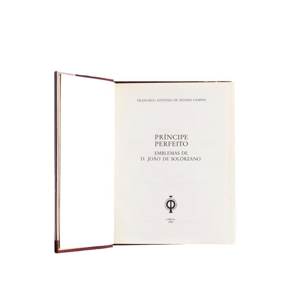 CAMPOS. PRINCIPE PERFEITO, 1 vol. enc.