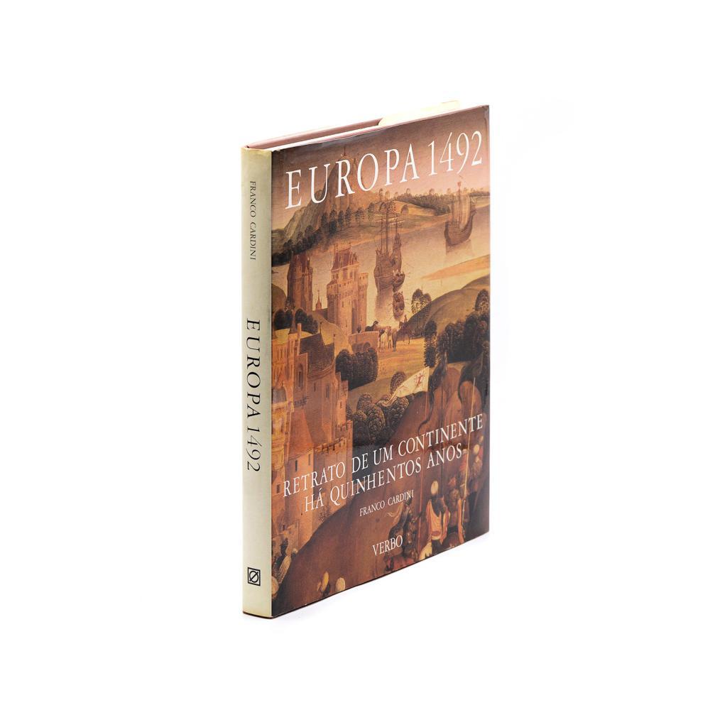 Cardini. Europa 1492. Retrato de um ...1 vol. enc.