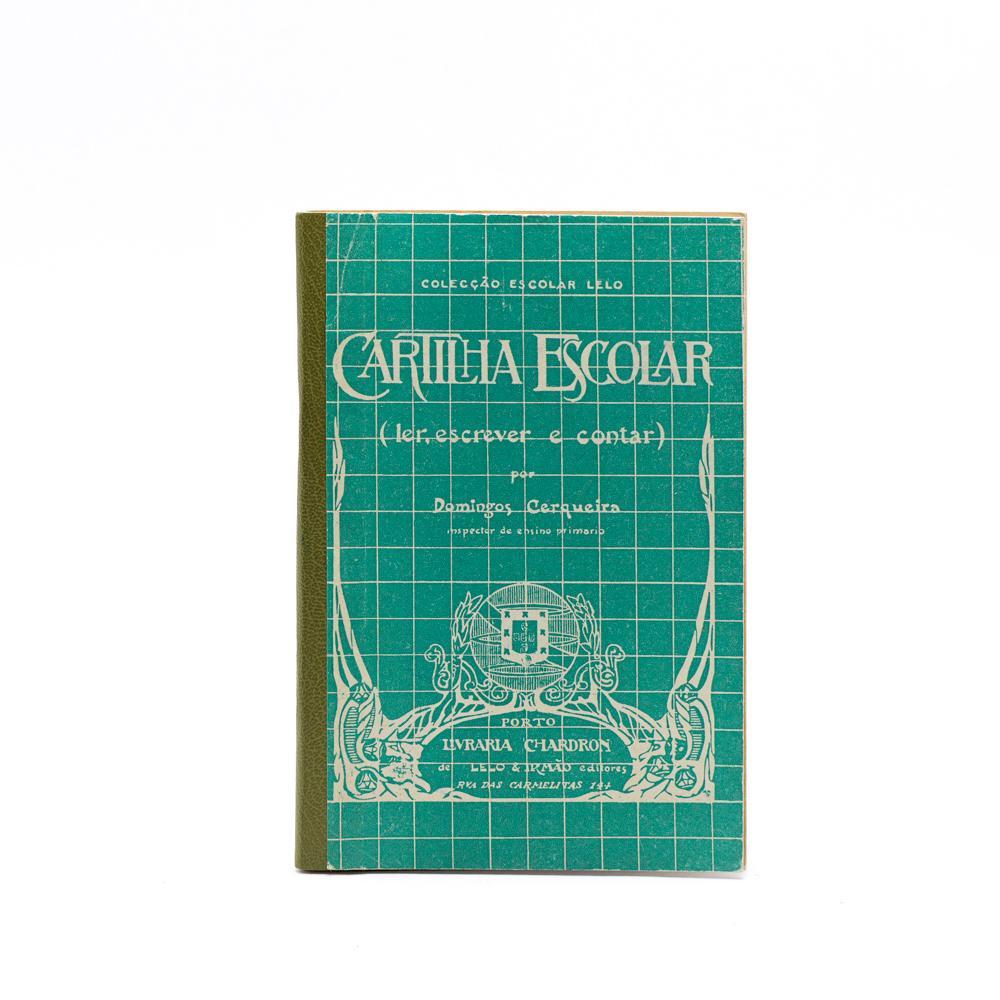 CERQUEIRA. CARTILHA ESCOLAR, 1 vol. br.