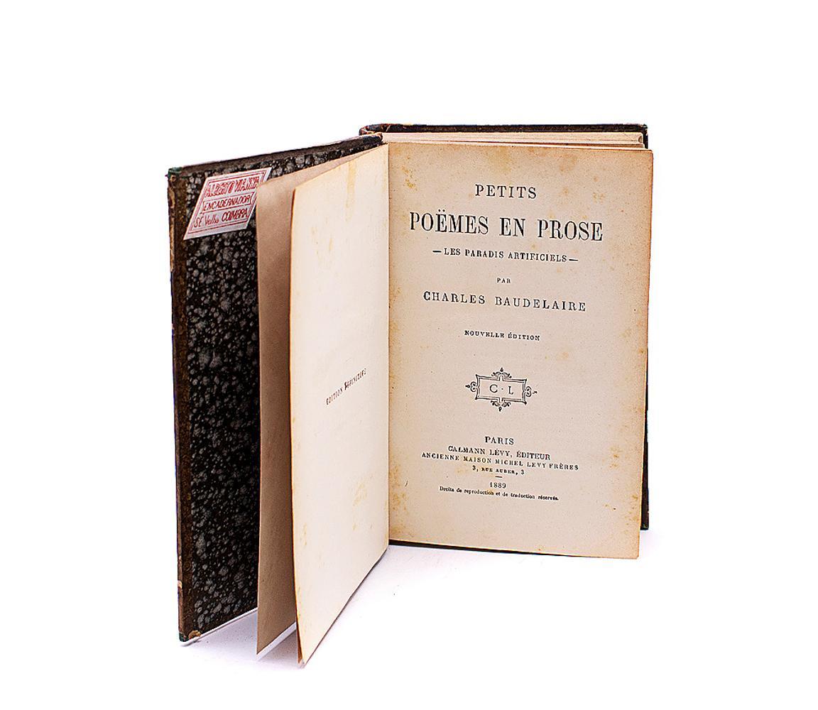 BAUDELAIRE, Charles. PETITS POËMES EN ROSE, 1 vol.