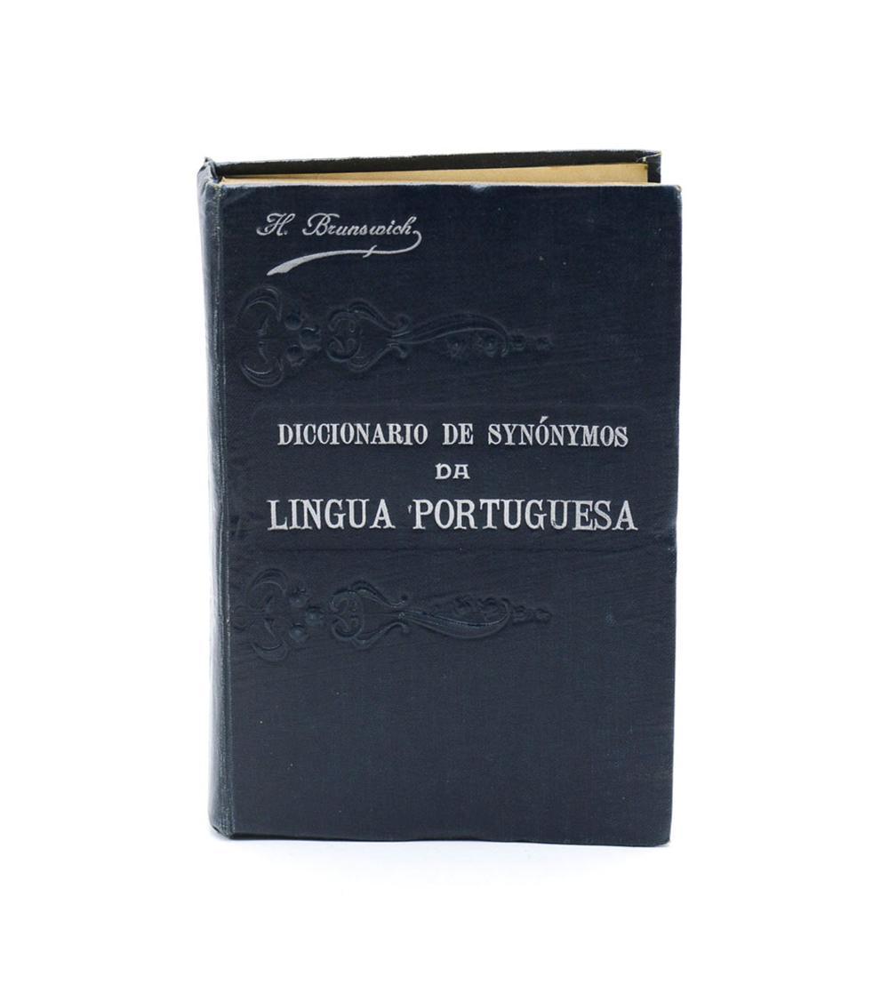 BRUNSWICK. DICIONÁRIO DE SYNÓNIMOS DA..1 vol. enc.