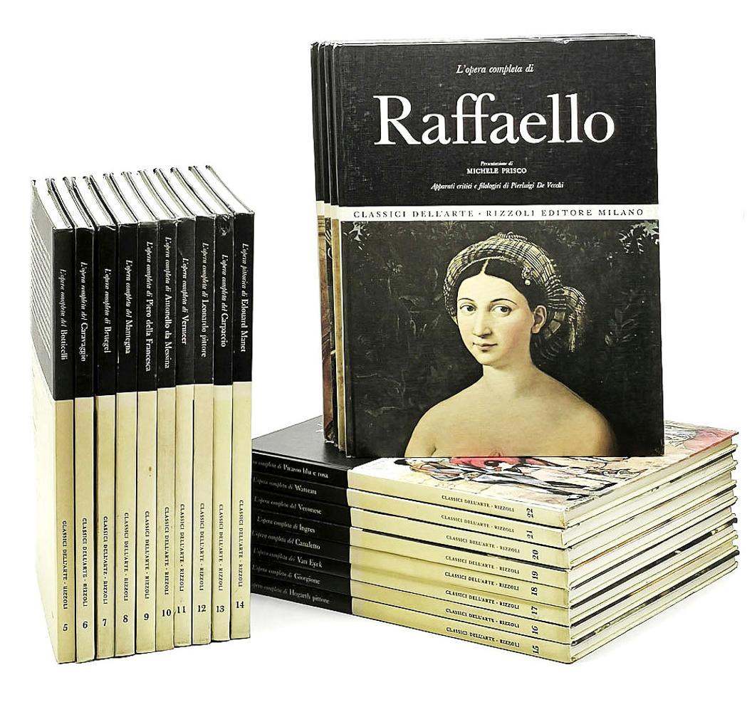 CLASSICI DELL'ARTE, 22 vols. encs.