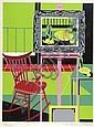Tom, 'Atelier', serigrafia sobre papel, 44x33cm., Tomás José