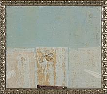 PEDRO CHORÃO, Técnica mista sobre tela, 60 x 47 cm