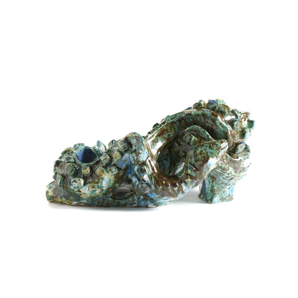 BELA SILVA , Escultura em cerâmica policromada