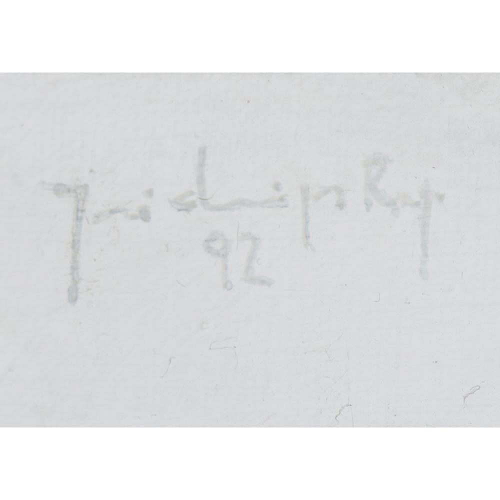 DOMINGOS REGO,Acrilico sobre tela, D.116x89cm.