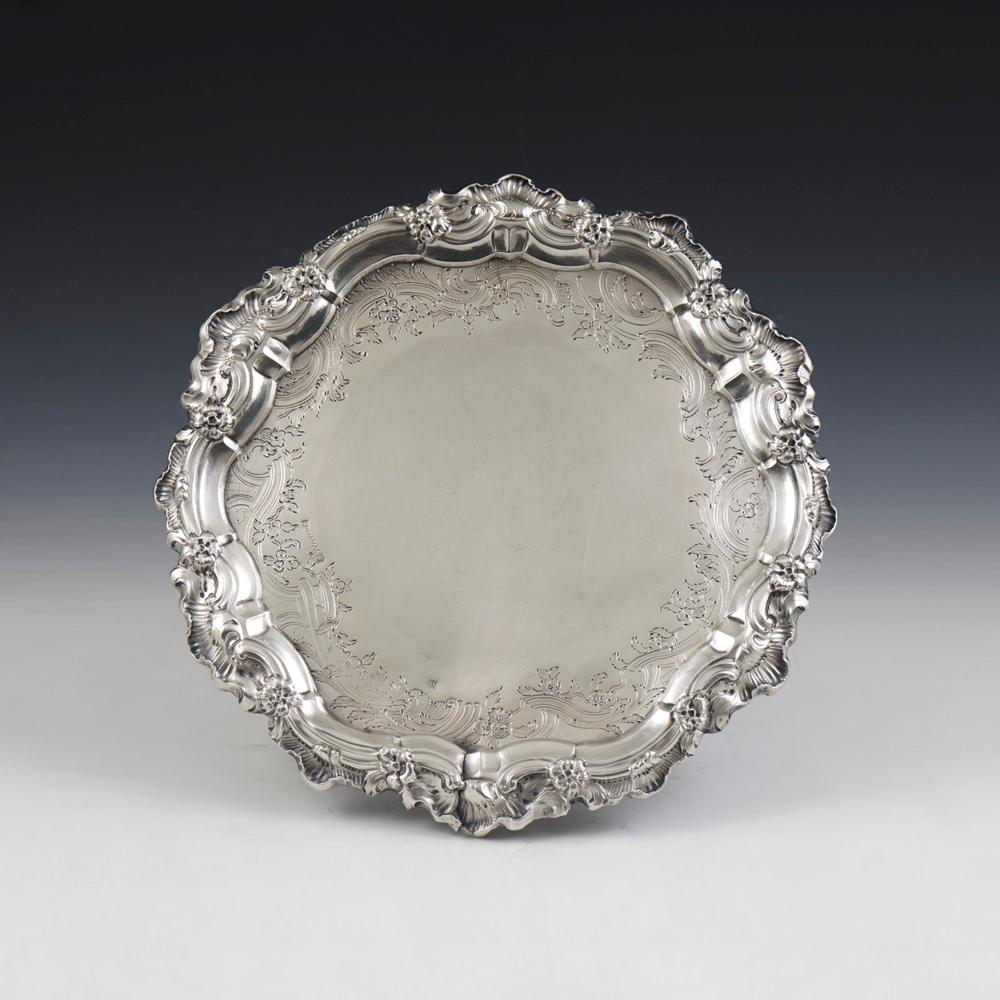 Salva D. José em prata séc. XIX,P.:525g