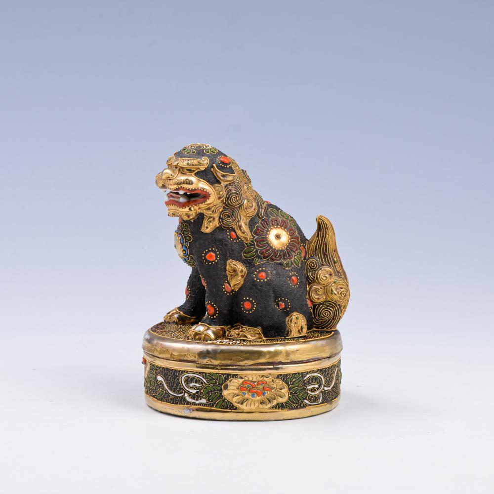 Caixa em porcelana japonesa